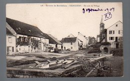 Exincourt (25 Doubs) Un Coin Du Village  (voyagé 1904) (PPP4762) - Autres Communes