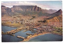 CAPE TOWN FROM THE AIR - CITTA' DEL CAPO -  VIAGGIATA 1964 - (407) - Sud Africa