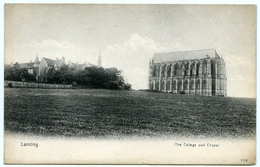 LANCING : THE COLLEGE AND CHAPEL - England