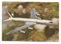 ALITALIA DOUGLAS SUPER DC 8 JET - 1946-....: Era Moderna