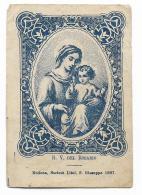 B.V. DEL ROSARIO - SOCITA' LITOG. S.GIUSEPPE MODENA - CM.10X7 - Devotion Images
