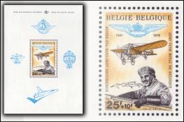 Belgium BL 049**  Aero Club  MNH - Blocs 1962-....