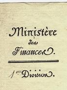 1809 LETTRE SIGNEE Mollien   Ministre Des Finances EMPIRE PIEMONT Départements Annexés Borgo San Marino Frassinetto B.E. - Autographs