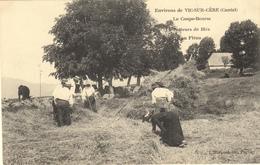 ENVIRONS DE VIC SUR CERE (15) LE COUPE-BOURSE - BATTEURS DE BLES AU FLEAU - EDITEUR L'HIRONDELLE PARIS - Unclassified