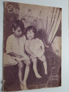 VECKO Journalen ( SVENSKA ) 1916 +++ Photo BARNENS KRIGSLEK ( Holland / Belgiska - 4 Photo ORIGINAL / UNIQUE ) - Documenti Storici