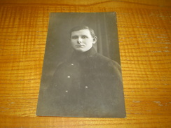 Carte Photo Militaire Prisonnier à Harbke En Allemagne,carte En FM Du Camp De Zerbst, Gepruft Lager Zerbst N° 23 - Guerra 1914-18