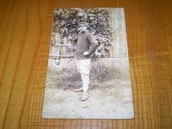 Carte Photo Militaire Prisonnier En Allemagne, Tampon Camp De Zerbst, Gepruft Lager Zerbst N° 23,Verlag A.Unland Hannove - Guerra 1914-18