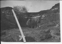 Nampcel Entrée Des Carrières 1 Carte Photo 1914-1918 14-18 Ww1 - Oorlog, Militair