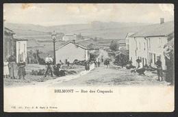 BELMONT Rare Rue Des Crapauds (Vve Baty) Luxembourg Belgique - Belgique