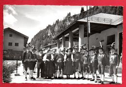 Brennergrenze. Zollamt. Andreas Hofer Musikkapelle. Costumes Et Coiffes Traditionnels. - Oostenrijk