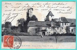 LUCQ DE BEARN - RUINES DU VIEUX CHATEAU - France