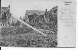 1914 Moulin Sous Touvent Ferme De Puiseux Le Chemin Les Ruines 1 Carte Photo 1914-1918 14-18 Ww1 - Oorlog, Militair