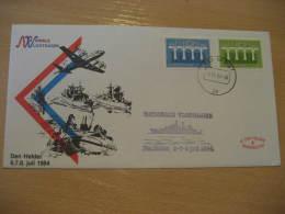 NATIONALE VLOOTDAGEN DEN HEKLDER Military VELDPOST 1984 Cancel Cover NETHERLANDS - Militaria