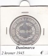 DANIMARCA   2  KRONER  1945  COME DA FOTO - Danimarca