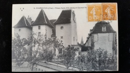 CPA D18 Charenton, Maison Soret - France