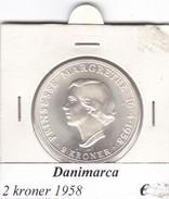 DANIMARCA   2  KRONER  1958  COME DA FOTO - Danimarca
