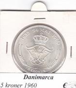 DANIMARCA   5  KRONER  1960  COME DA FOTO - Danimarca