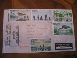 "PAQUEBOT M.V. ""Cape Otway"" Glasgow 1980 Seamen's Mail To Highton Australia NAURU - Nauru"
