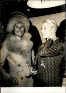 PHOTO - Photo De Presse - MICHELE MORGAN - Actrice - 1971 - Célébrités