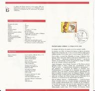 Belgique: 2264 - 2302 - 2339 - 2390 - 2428/ 2431 Sur Documents De La Poste (oblitération 1er Jour BD) - Bandes Dessinées