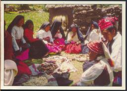 °°° 3745 - PERU - PUNO - LAGO TITICACA - ARTESANOS DE LA ISLA TAQUILE  °°° - Perù