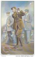 JERSEY ISL. - Sporting History/Harry Vardon, CN : 69JERD(normal 0), Tirage %45000, Used