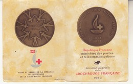 Carnet Croix Rouge 1963 - Carnets