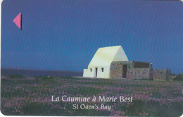 "JERSEY ISL. - St.Ouen""s Bay/La Caumine A Marie Best, CN : 54JERA(0 With Barred), Used - United Kingdom"