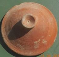 Couvercle De Marmite Romaine En Terre Cuite Utilisé Du 2em Au 4em Siècle - Archéologie