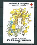 France Carnet Croix Rouge De 1983  Neuf ** - Cruz Roja