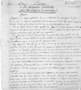 89 VINNEUF - Copie D'époque D'une Pétition Adréssée à La Convention Nationale Par Les Citoyens De Vinneuf. 2 Pages Tb ét - Documents Historiques