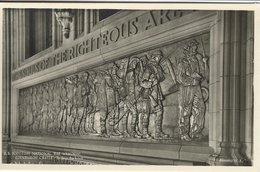 The Scottish National War Memorial. Edinburgh Castle. The Shrine. Bas Reliefs.  S-3326 - Museum