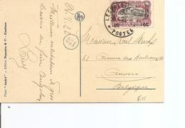 Congo Belge ( CP De 1926 De Léopoldville Vers La Belgique à Voir)