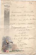 Menu / Diner / Champagne MORLANT/ Marne / /Debar/  1934  MENU193 - Menus