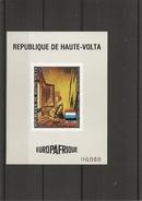 Peintures -Vermeer ( PA 145 De Haute-Volta En Petit Feuillet  Non Dentelé XXX -MNH) - Art