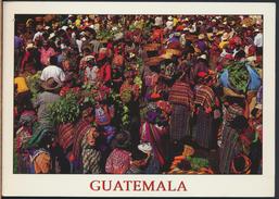 °°° 3758 - GUATEMALA - MERCADO DE ALMOLONGA - With Stamps °°° - Guatemala