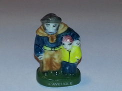 "FEVE Santon ""L'AVEUGLE"" - Santons"