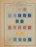 Album Philatélie Timbres Et Vignettes, Diverses Enveloppes, Programmes Et Cartes Oblitérées