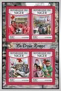 NIGER 2017 SHEET RED CROSS CRUZ ROJA CROIX ROUGE Nig17122a - Niger (1960-...)
