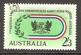 003409 Australia 1962 Commonwealth Games 2/3d FU - 1952-65 Elizabeth II : Pre-Decimals