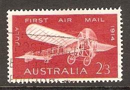 003411 Australia 1964 First Air Mail 2/3d Used - 1952-65 Elizabeth II : Pre-Decimals
