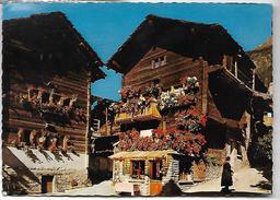 Evolène (Val D' Hérens )VS Suisse  Vieux Chalets Typiques - Non Classés