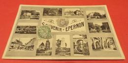 CARTE POSTALE EURE ET LOIR : EPERNON  , MULTIVUES ,  ETAT VOIR PHOTO  . POUR TOUT RENSEIGNEMENT ME CONTACTER. REGARDEZ - Epernon