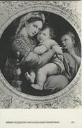 Firenze - R. Galleria Pitti - Madonna Della Seggiola - Raffaello Sanzio.  S-3348 - Museum