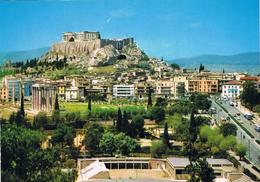 24029. Postal ATENAS (Grecia) Acropolis, Templo De Jupiter. Arqueologia - Grecia
