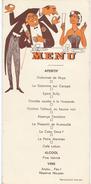 Menu Humoristique/ Reproduction Interdite/Dubonnet De Nuys / Vers 1950      MENU200 - Menus