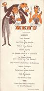 "Menu Humoristique/ Reproduction Interdite/""Turin Stonver"" / Vers 1950      MENU201 - Menus"