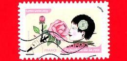 FRANCIA - Usato - 2014 - Sensi - Olfatto - Odorato - Rosa - Le Parfum De La Rose - 20 G - France