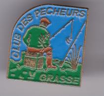 52251-  Pin's.Grasse.Peche... - Villes