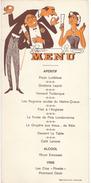 "Menu Humoristique/ Reproduction Interdite/""Picon Luiléfess"" / Vers 1950      MENU205 - Menus"